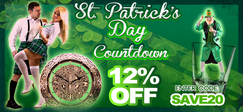 St Patricks Accessories Bulk