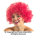 Pink Afro Wig 6015