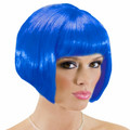 Blue Bob Wig Short Wig Costume Supermodel 6044 12 PC Minimum