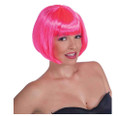 Pink Bob Supermodel Costume Wig 6045