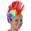 Rainbow Mohawk Wig 6066
