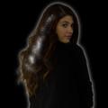 White Starlight Fiber Optic Hair Extensions 6165