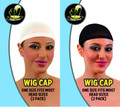 Wig Caps Wholesale   Wig Caps Bulk   12 PACK  3 Color Options 217D