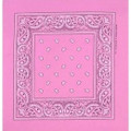 Light Pink Paisley Bandanna 1914Dz