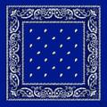 Royal Blue Paisley Bandanna 12 PACK 1920DZ