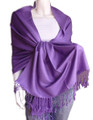 Purple Pashmina Shawl 12 PACK 2110