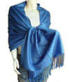 Royal Blue Pashmina Shawl 12 PACK 2112
