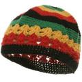 Rasta Kufi Crochet Beanies 1476
