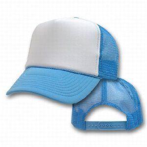 74c6c6cf276d5 Light Blue Trucker Caps | White Front 1469. Price: $4.00. Image 1