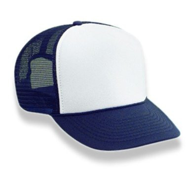 Mesh Trucker Cap Navy Blue And White 1453 - Private Island Party 7facb7269b7