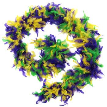 Mardi Gras Feather Boa 2034