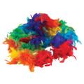 Rainbow Feather Boa 2038