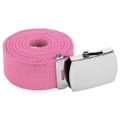 "Light Pink Canvas Adjustable Belt Adjusts to 44-46"" Size 2214"