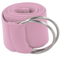 Light Pink Stretch D-Ring Belt 2688