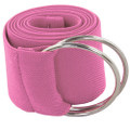 Hot Pink Stretch D-Ring Belt 2689