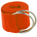 Orange Stretch D-Ring Belt 2691