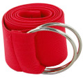 Red Stretch D-Ring Belt 2694