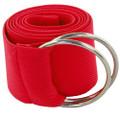 Red Stretch D-Ring Belt 2694