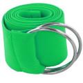Green Stretch D-Ring Belt 2699