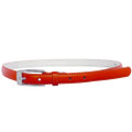Red Skinny Belt with Rectangle Buckle 2764-2767