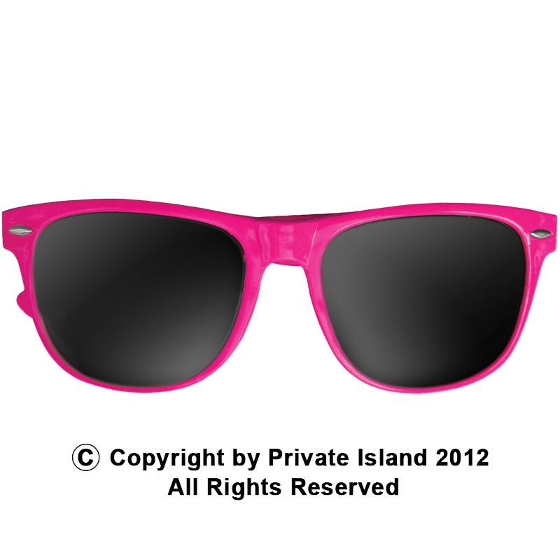 4795d3b7d8 Hot Pink Sunglasses Wayfarer Pink Adult Size 1054. Price   2.99. Image 1.  Larger   More Photos