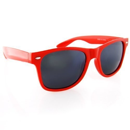 0aa5932964 Red Wayfarer Sunglasses Adult Size 1056. Price   1.99. Image 1
