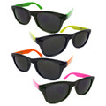 12 PACK Party Wayfarer Sunglasses -  Adult  Asst Colors 1175A