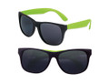 Party Wayfarer Sunglasses with Green Legs 1176