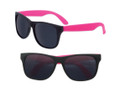Party Orange Sunglasses | Iconic 80's Style | Sunglasses with Pink Legs 1178