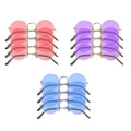 Lennon Style Round Frame Sunglasses Mixed Colors 12 PACK 1090