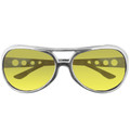 Yellow RockStar Elvis Style Sunglasses 1132