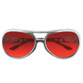 Red RockStar Elvis Style Sunglasses 1133