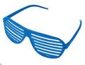 Blue Shutter Shades 1164