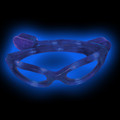 Blue Rave LED Wrap Around Glasses 7104