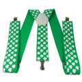 St Pattys Day Suspenders | Shamrock Suspenders | 6871