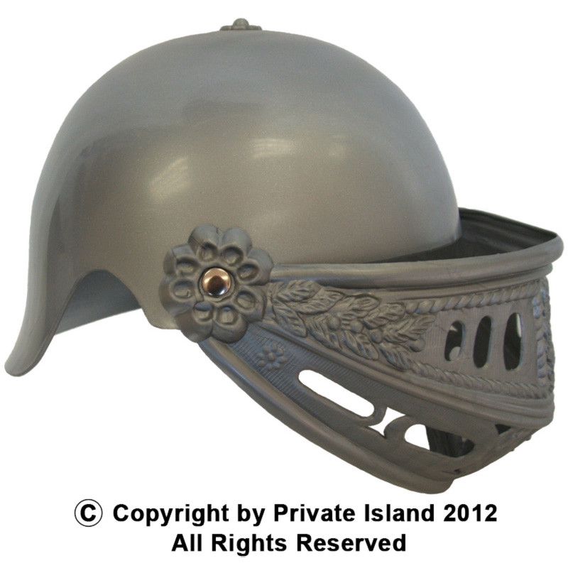 474a4598d3318f Child Knight Helmet Deluxe 1552 - Private Island Party