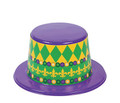 Mardi Gras Top Hats 12 PACK