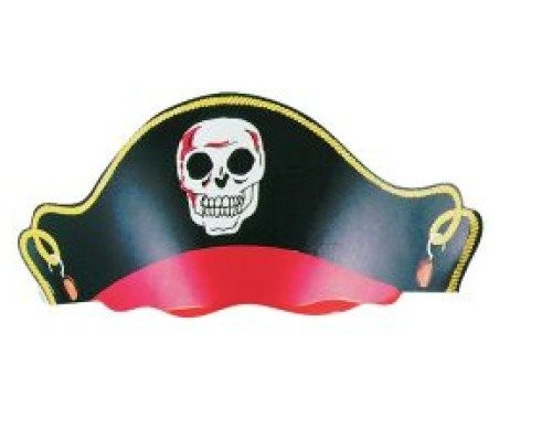 Pirate Party Hats Pack of 12