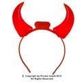 Light Up Devil Horns 12 PACK 1682