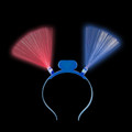 LED Blue Bopper Headband 1856