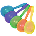 Glitter Plastic Maracas Mix Colors 12 PACK 1888
