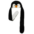 Penguin Hat with Paws/MIttens 5847