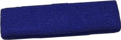 Royal Blue Terry Cool Headbands 3098