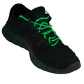 Flashing LED Shoelaces Green 1869