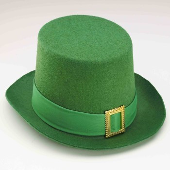 St Patricks Day Hats Green Leprechaun Hat with Gold Buckle 5886 ... 0c12b21a99b1