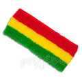 Rasta Terry Headband Sweatband 3088
