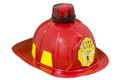 Fire Chief Hard Helmet with Light Deluxe 5952