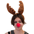 Reindeer Nose Blinking Red 1696