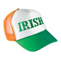 St. Patricks Irish Trucker Green/Orange Cap 5957