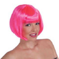 70's Neon Pink Bob Costume Disco Wig 6074 12 PCS Minimum